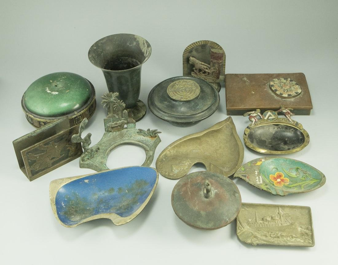 Lot of Israeli Brass Items - 4