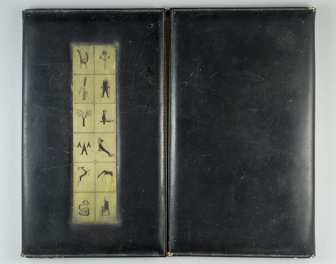 Binder with Plaque by Hadani