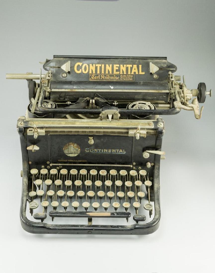 German Hebrew Typewriter