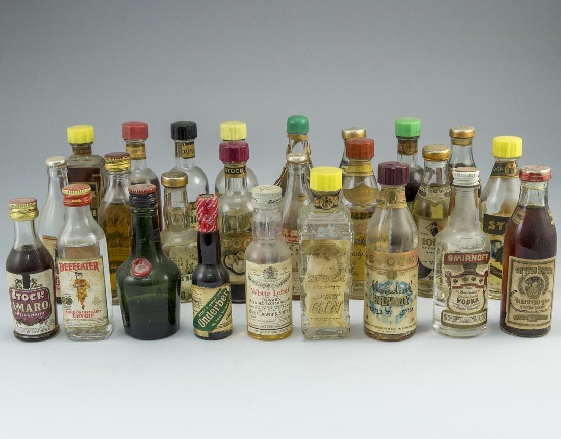 Lot of Miniature Bottles