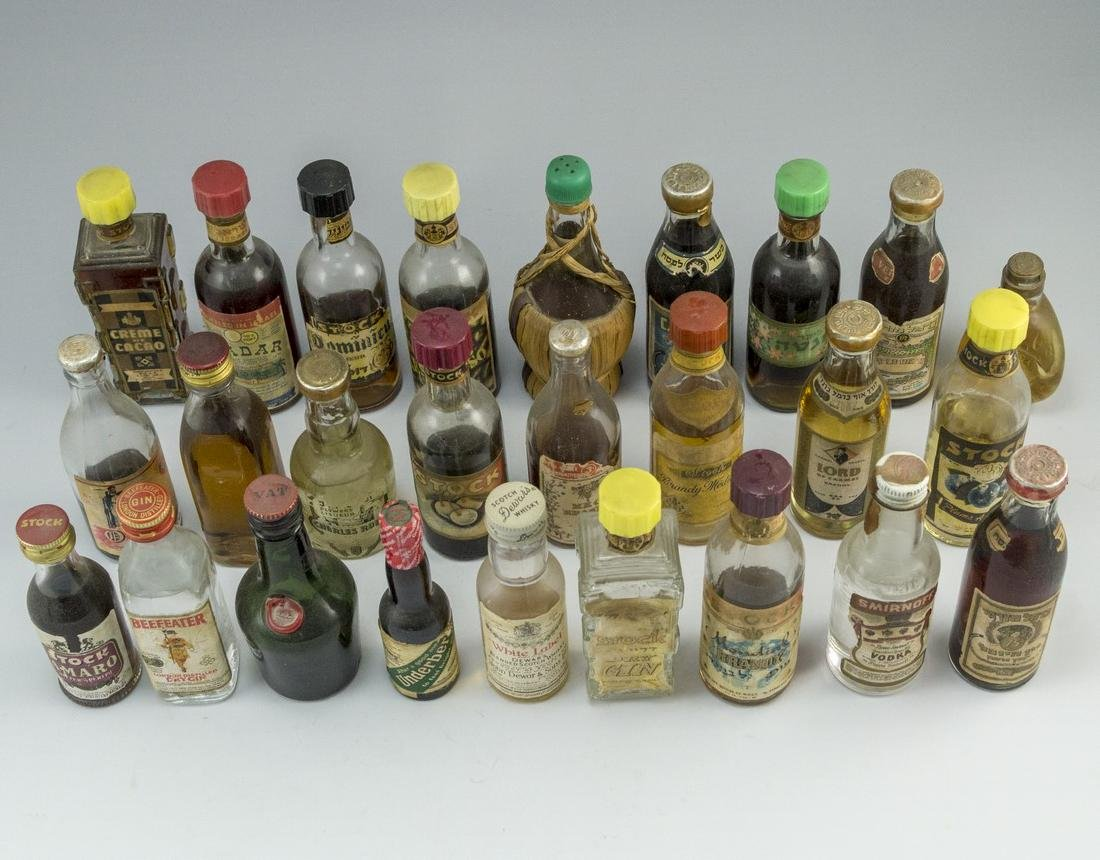 Lot of Miniature Bottles - 2