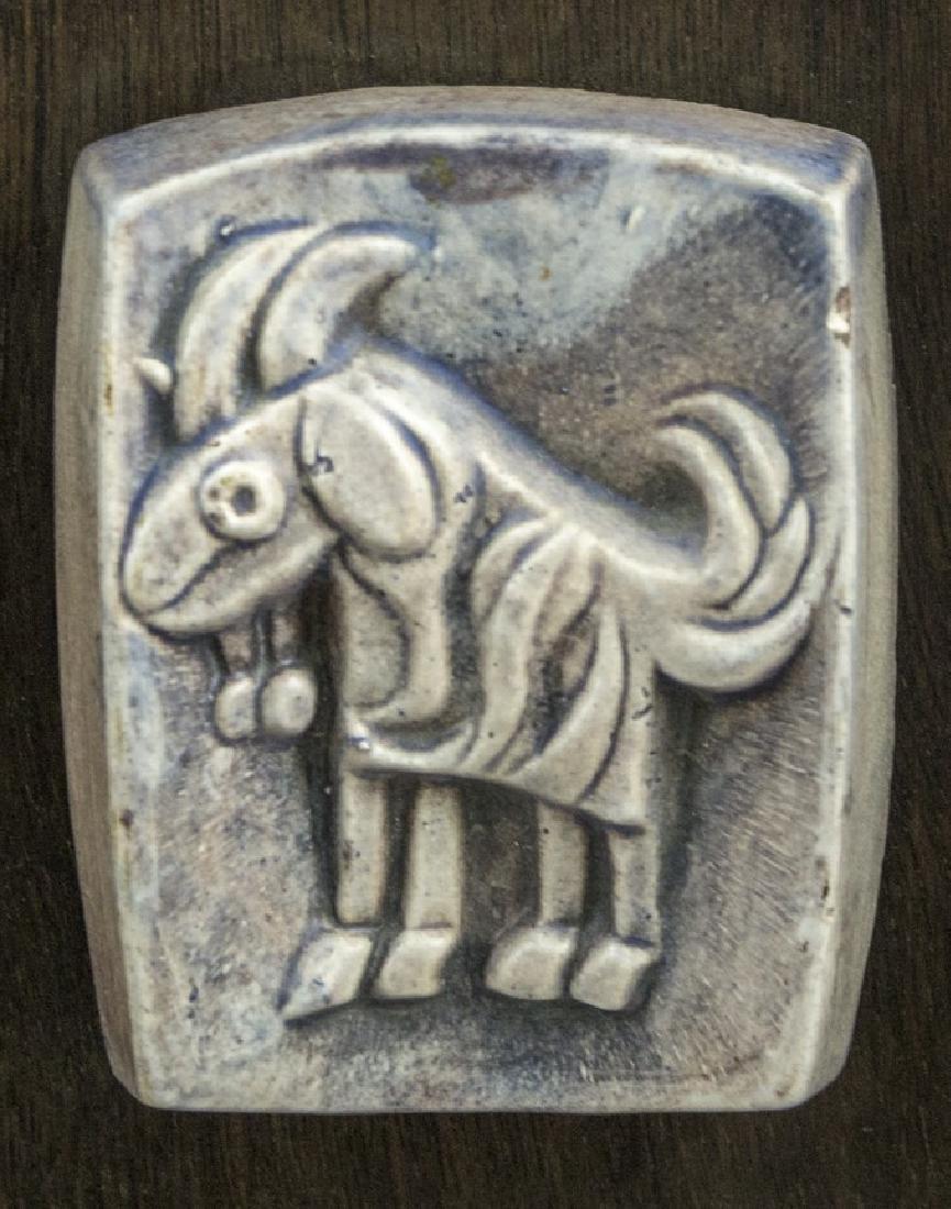 Lot of Ceramic Reliefs, Weishoff - 6