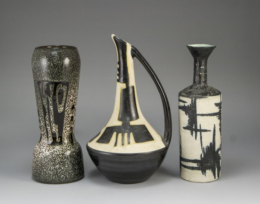 Lot of Ceramic Vases, Harsa