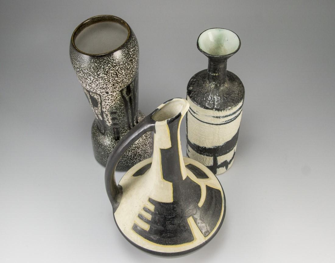 Lot of Ceramic Vases, Harsa - 3
