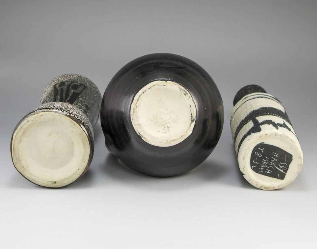 Lot of Ceramic Vases, Harsa - 4