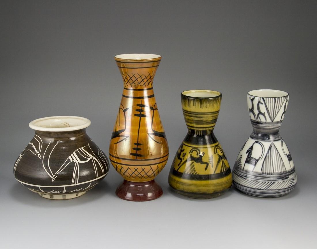 Lot of Ceramic Vases - 2