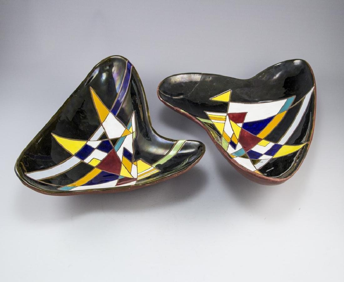 Lot of Ceramic Trays Keramos (Israel)