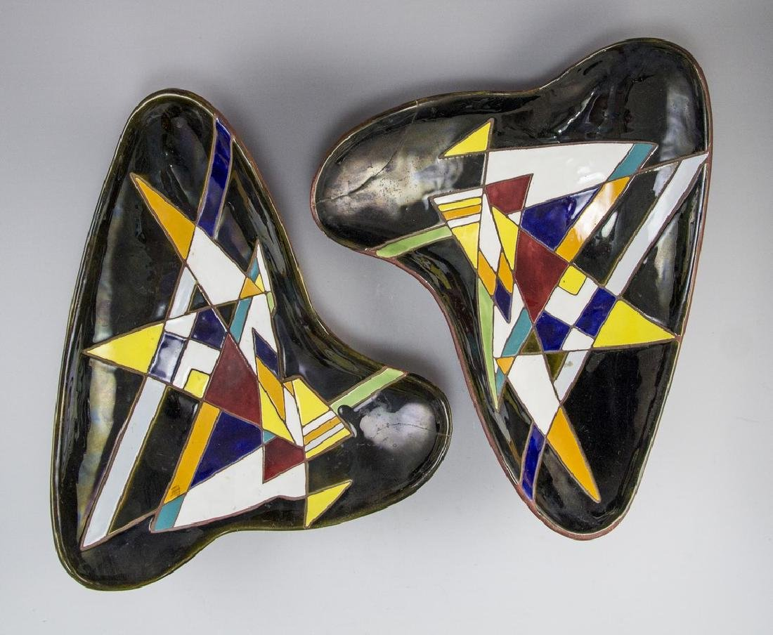 Lot of Ceramic Trays Keramos (Israel) - 2