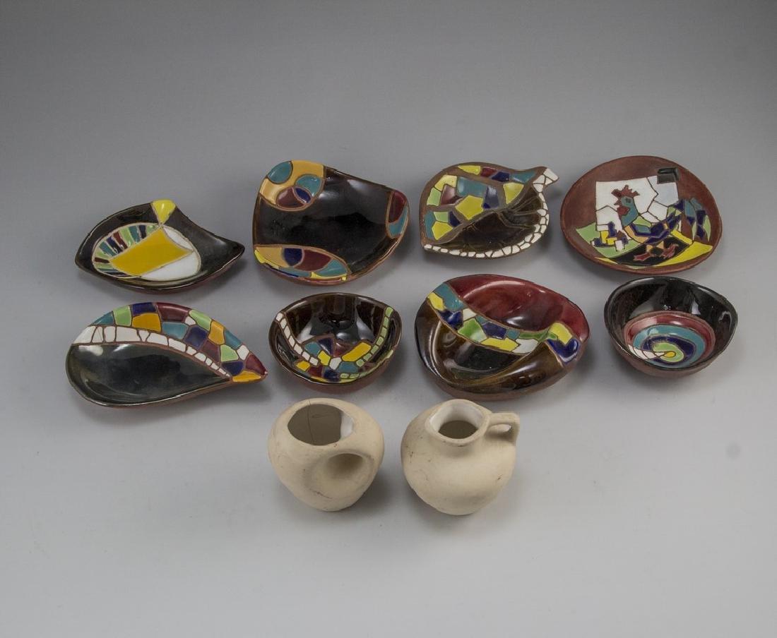 Lot of Ceramic Items, Keramos