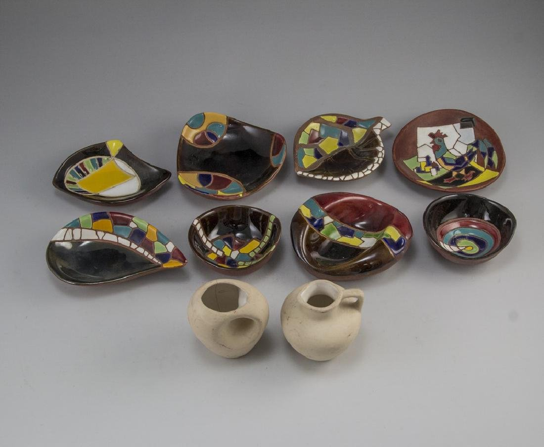 Lot of Ceramic Items, Keramos