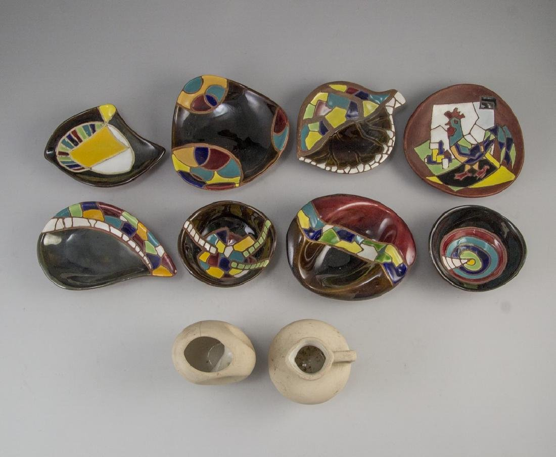 Lot of Ceramic Items, Keramos - 2