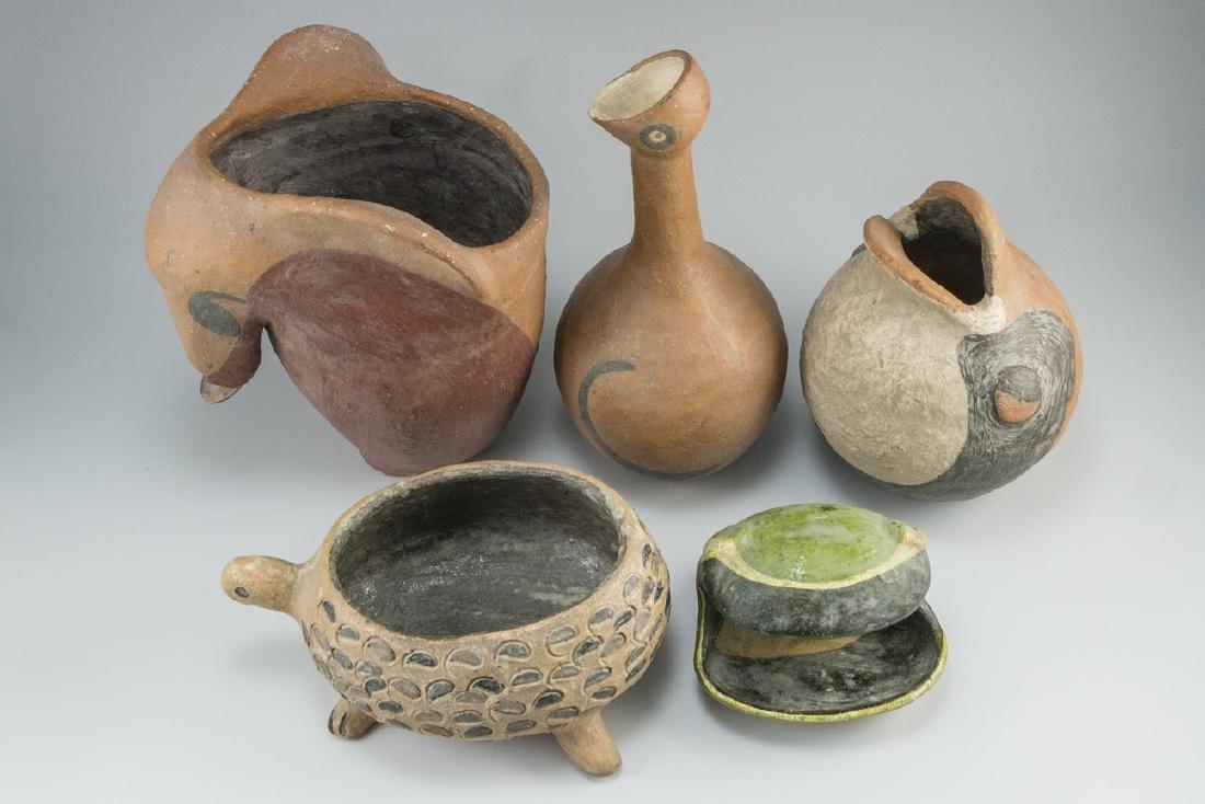 Lot of Ceramic items Keramos (Israel) - 2