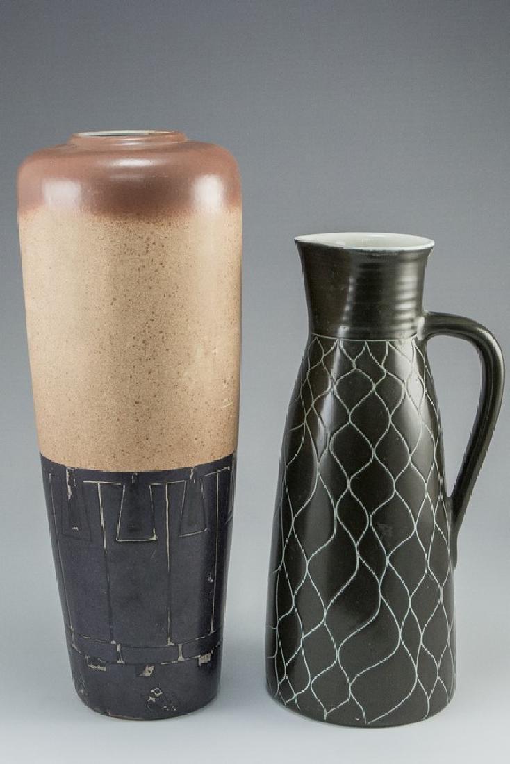 Lot of Israeli Ceramic Vases