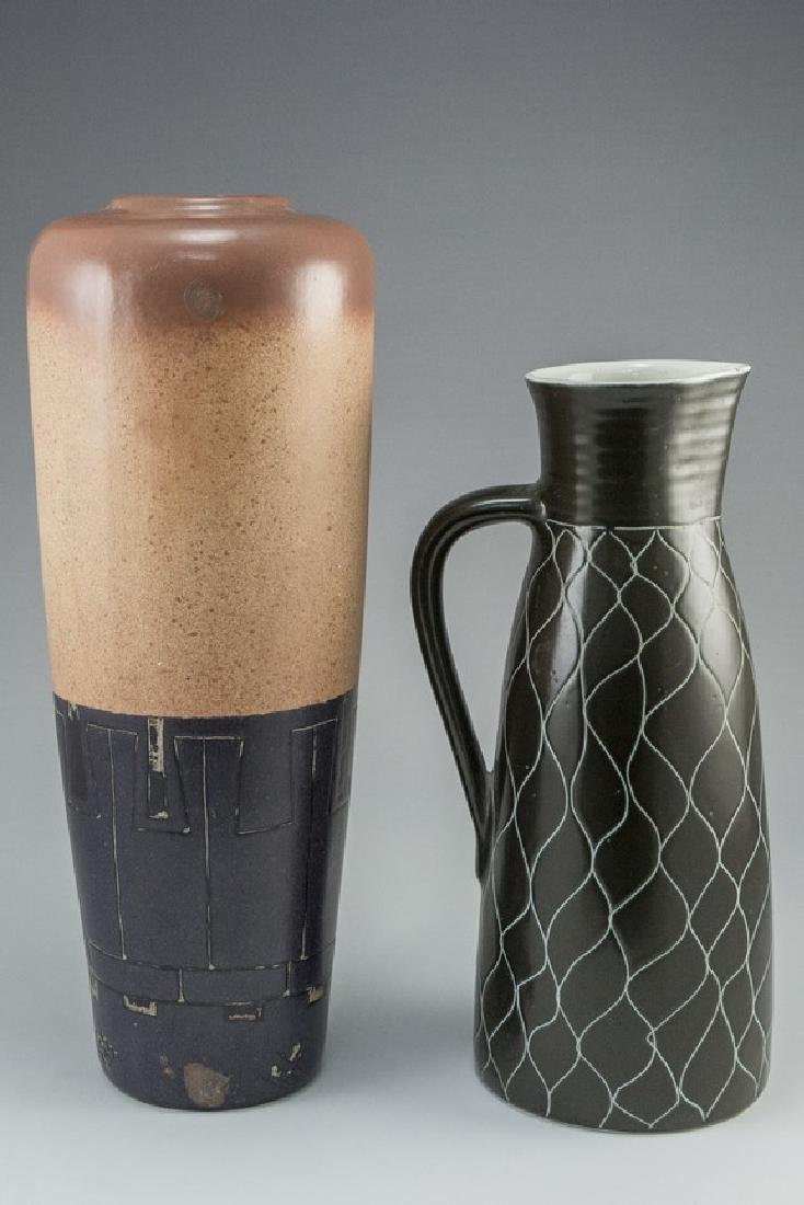 Lot of Israeli Ceramic Vases - 2