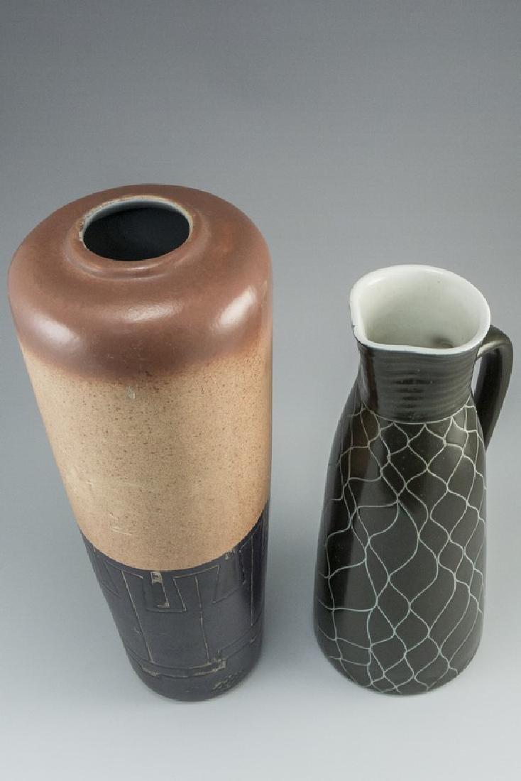 Lot of Israeli Ceramic Vases - 3
