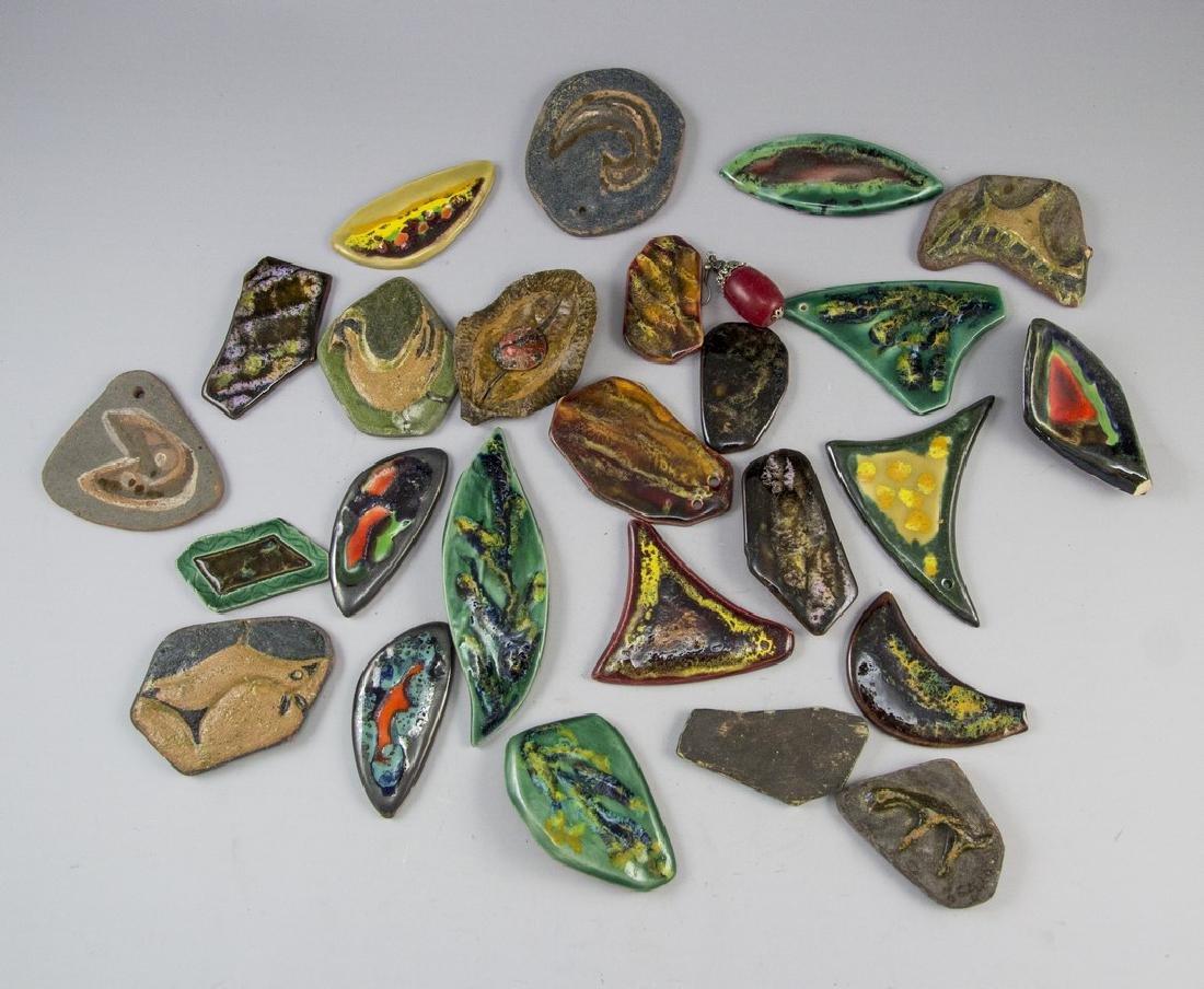 Lot of Ceramic Jewelry