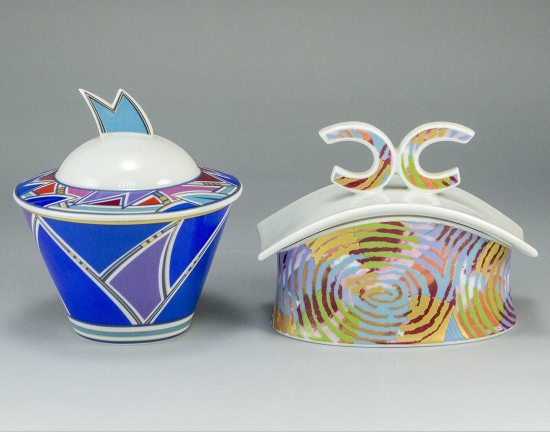 Lot of Porcelain Boxes, Rosenthal