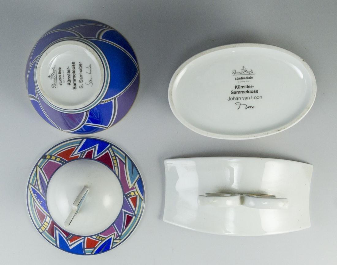 Lot of Porcelain Boxes, Rosenthal - 4
