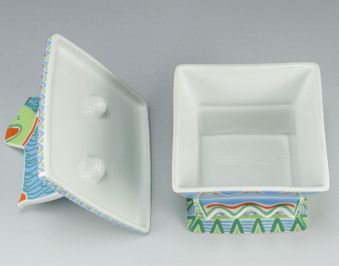 Rosenthal Porcelain Box, Laura Fiume - 4