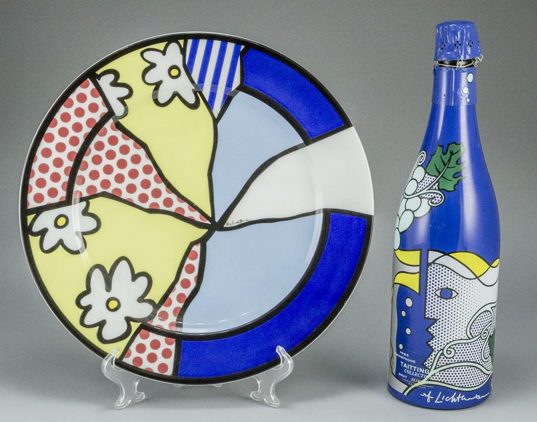 Lot of two items by Roy Lichtenstein