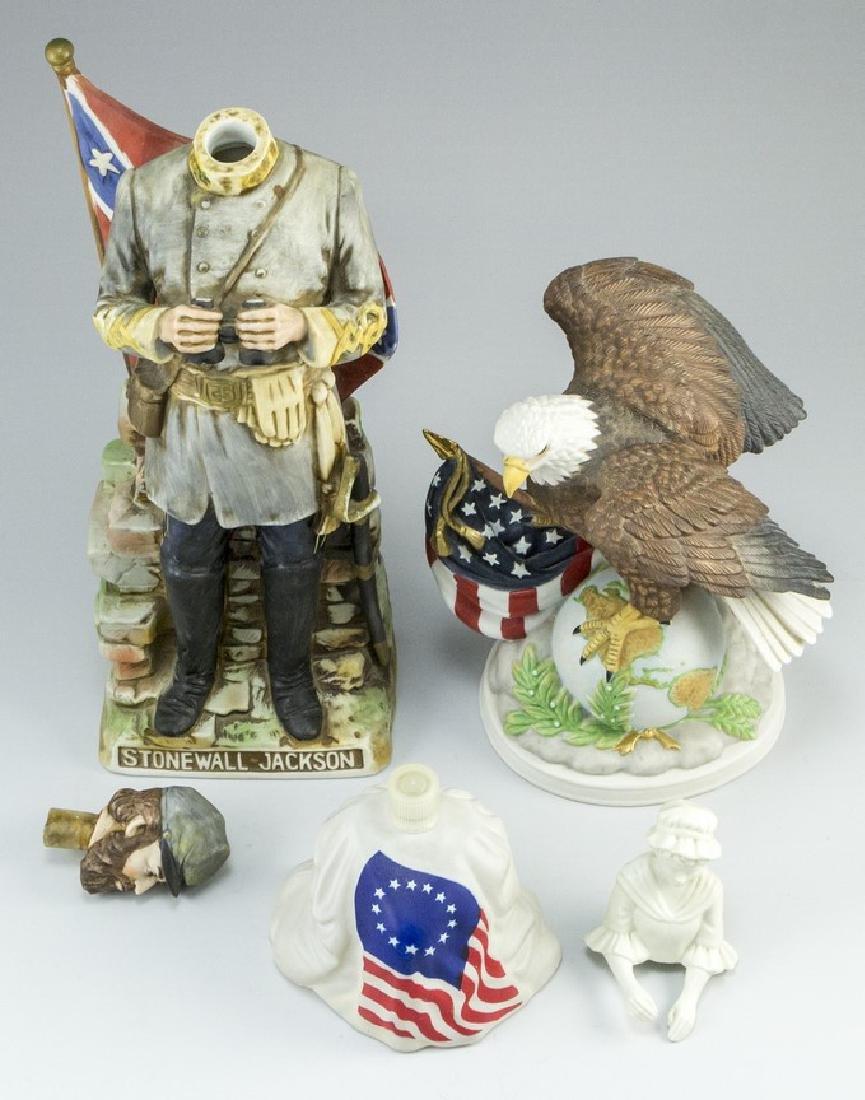 Lot of three American Ceramic Memorabilia Items - 3