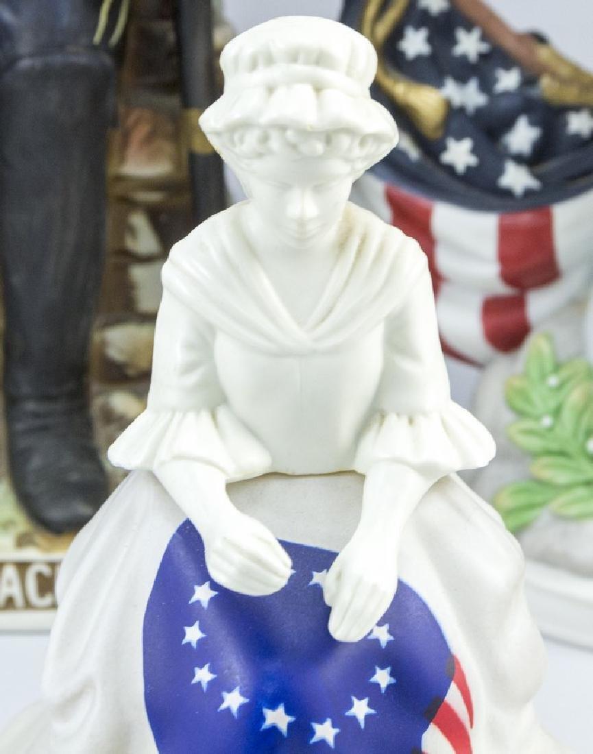 Lot of three American Ceramic Memorabilia Items - 5