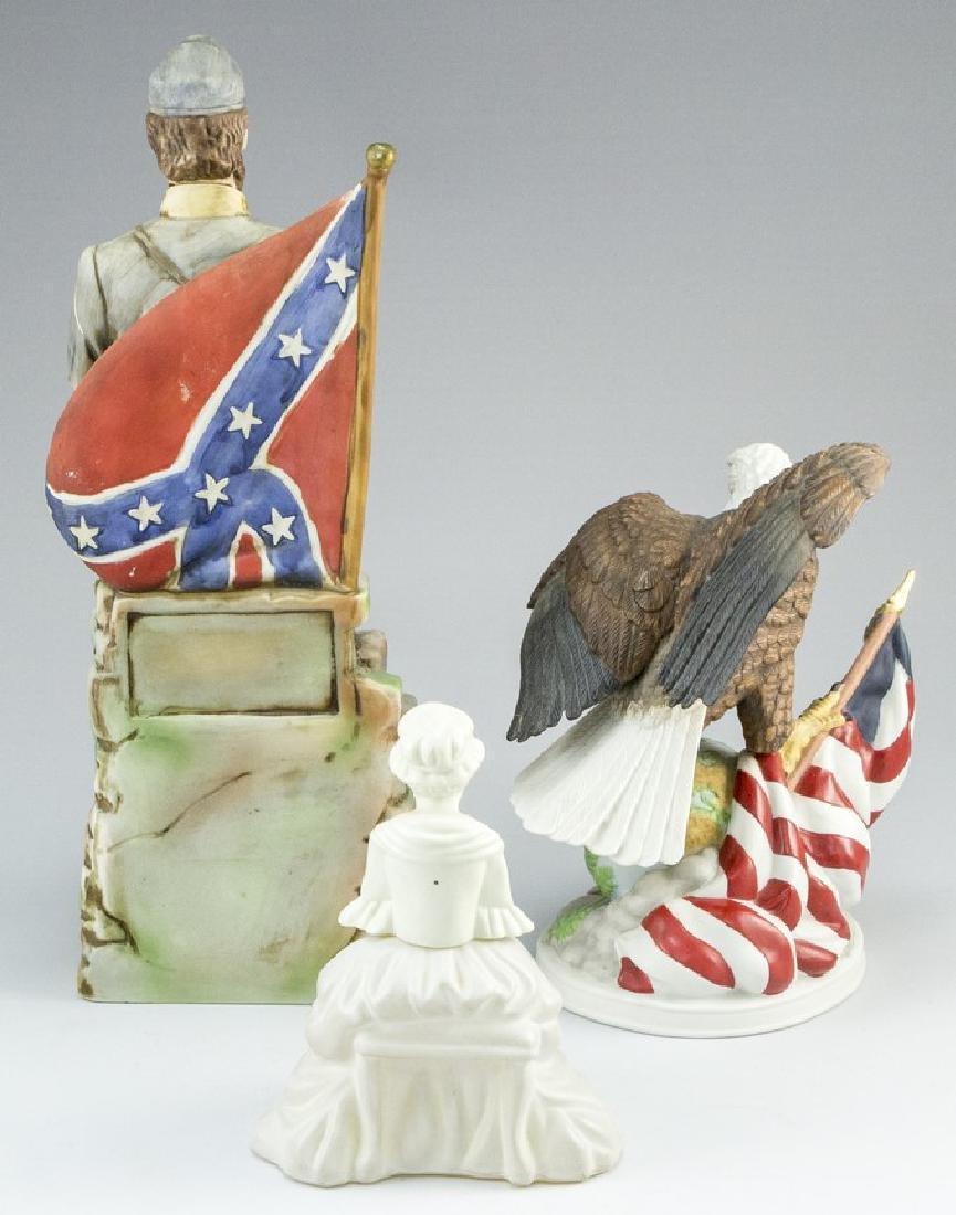 Lot of three American Ceramic Memorabilia Items - 8