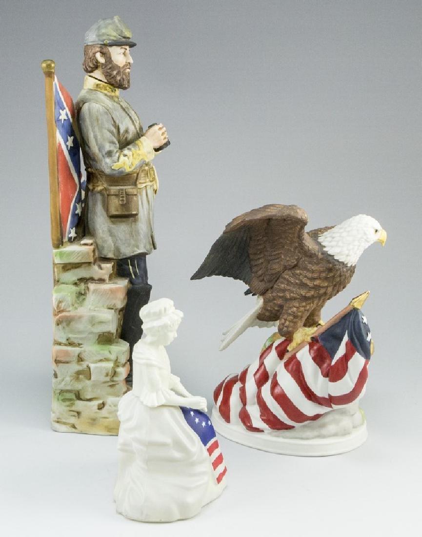 Lot of three American Ceramic Memorabilia Items - 9