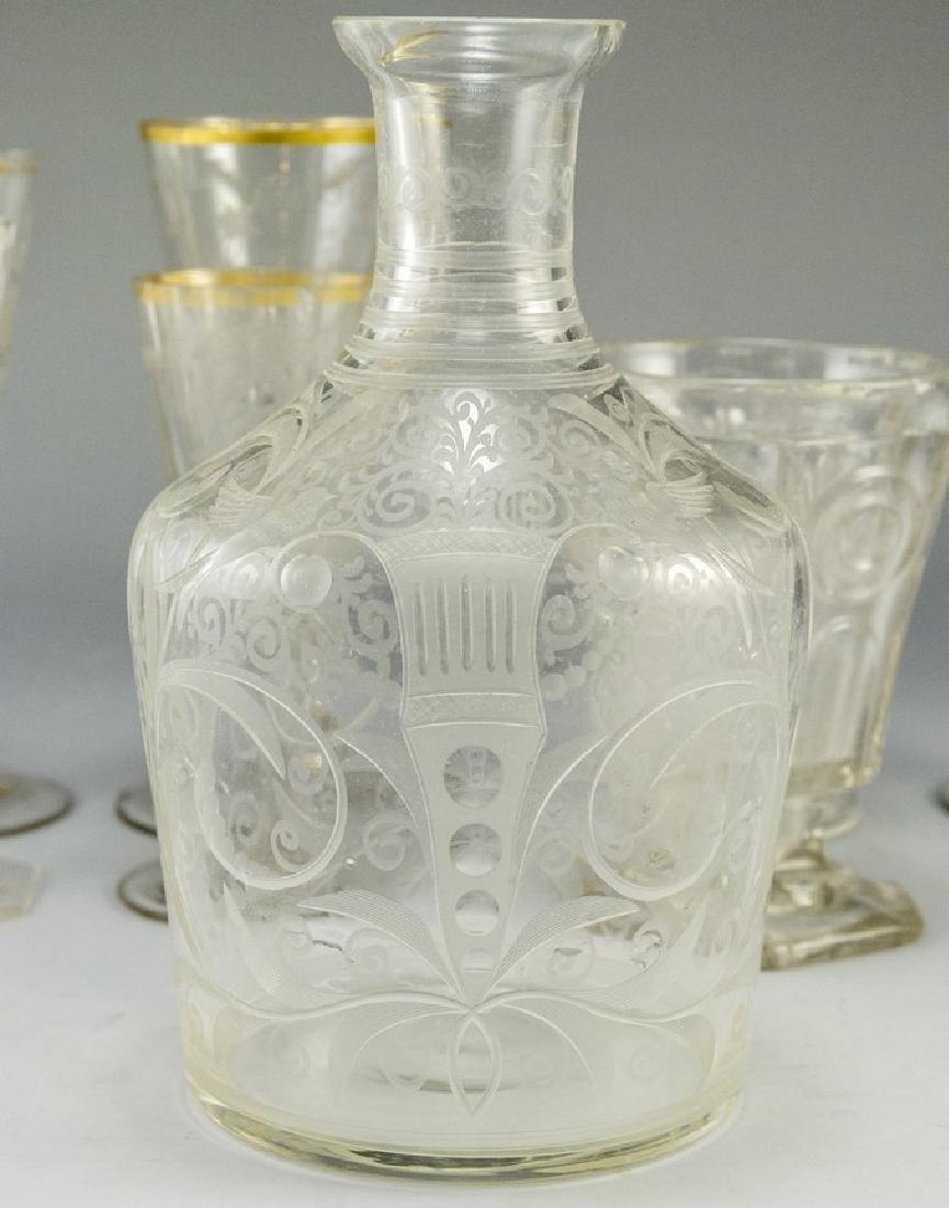 Antique Glass Items - 3