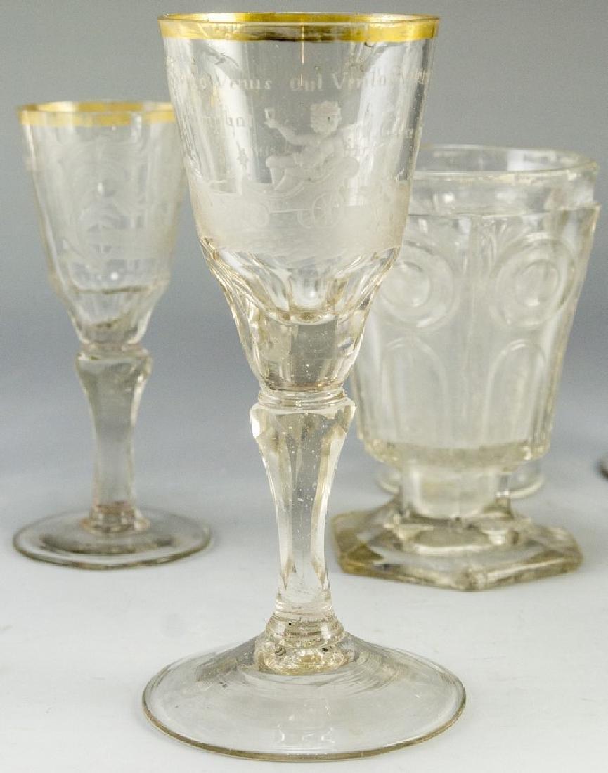 Antique Glass Items - 4
