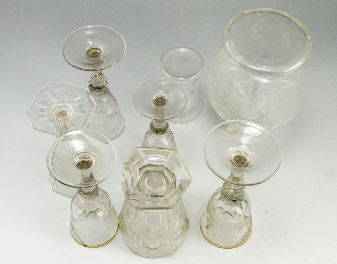Antique Glass Items - 8