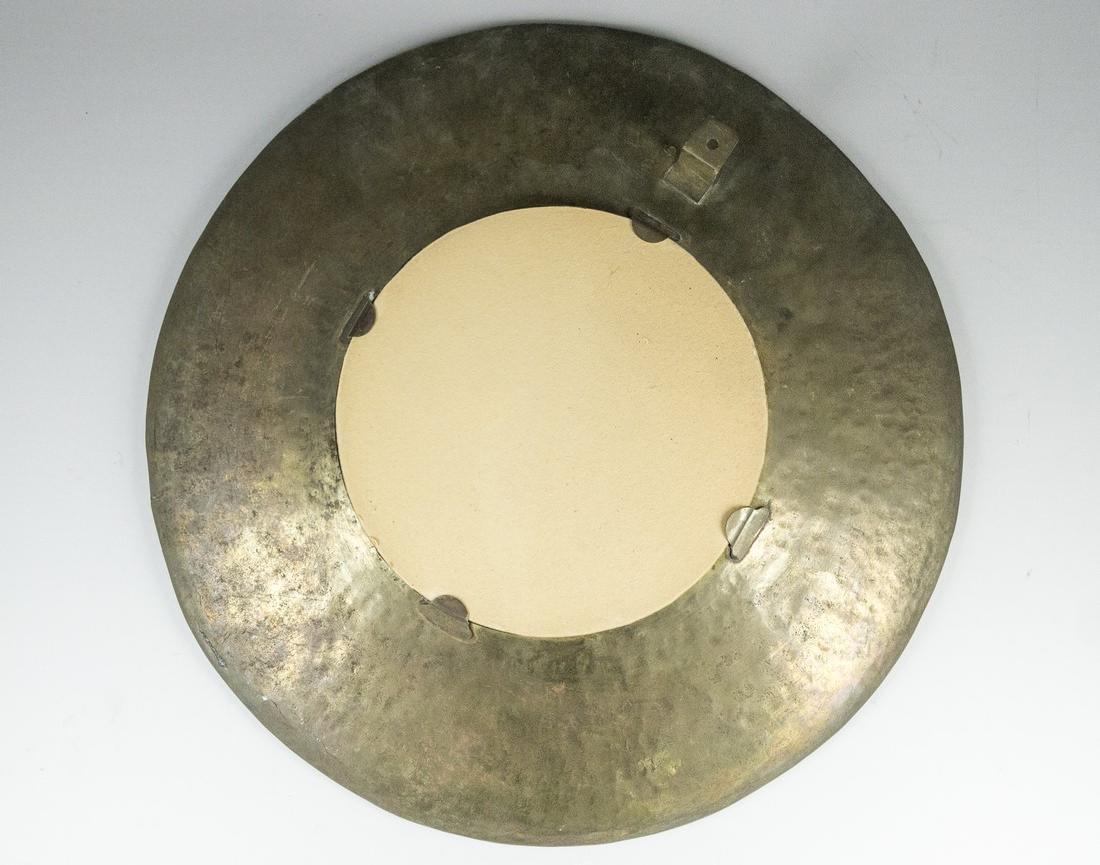 Persian Copper Tray/Mirror - 3