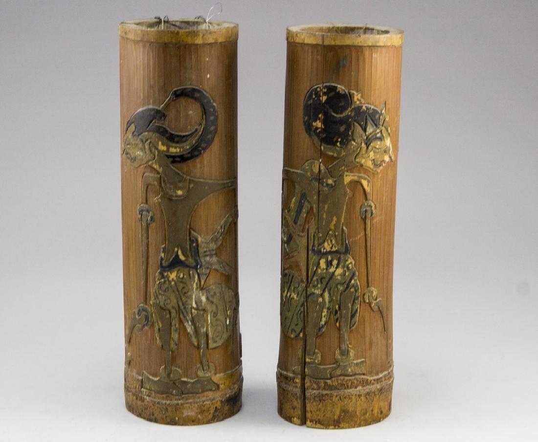 Pair of Indonesian Vases