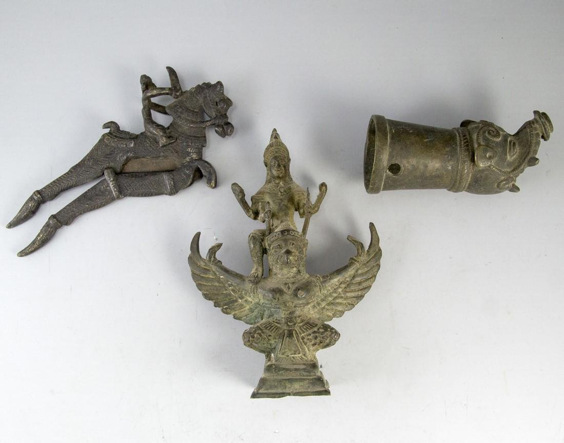 Lot of Indian Bronze Items