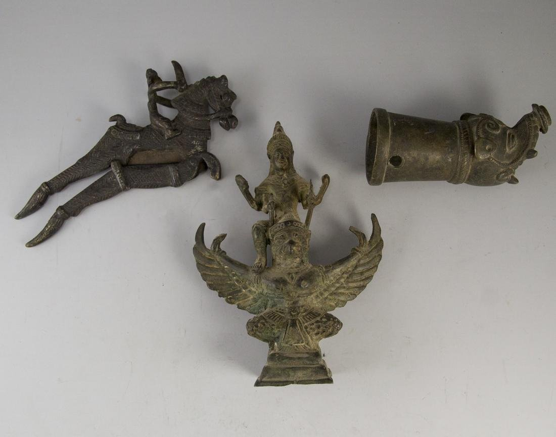 Lot of Indian Bronze Items - 2
