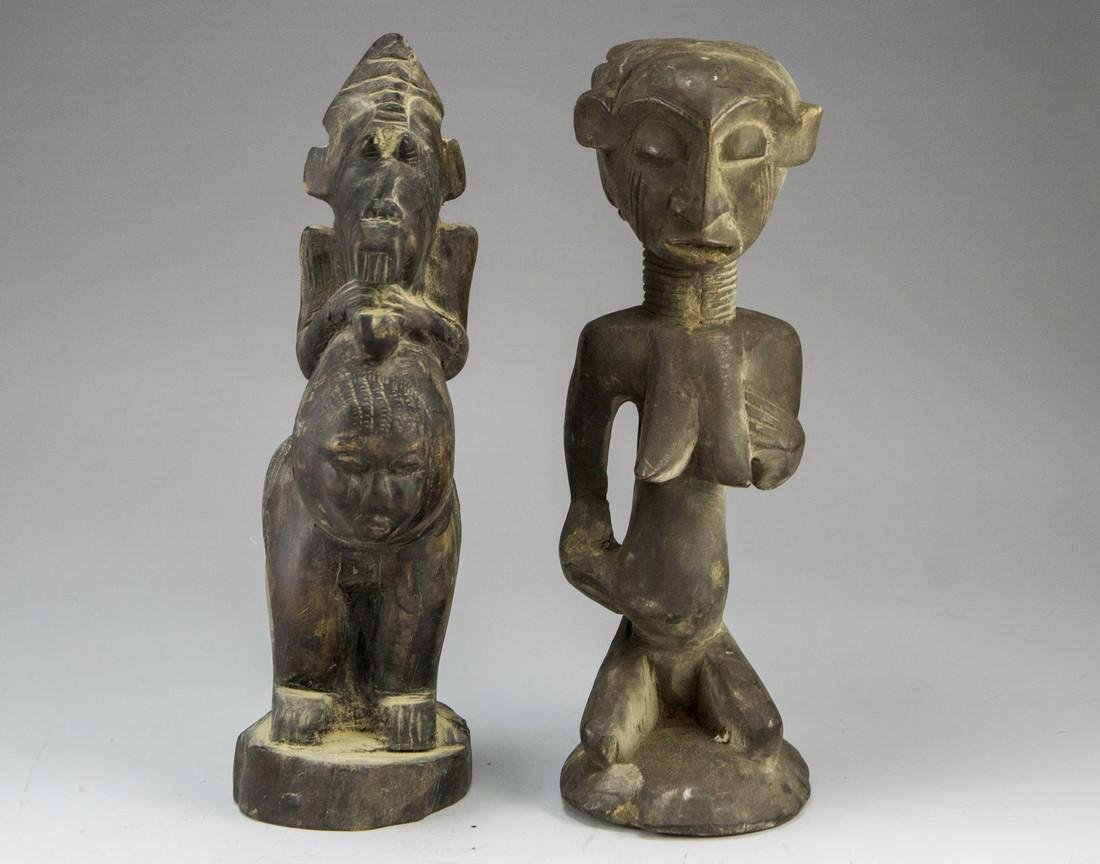 Lot of African Sculptures