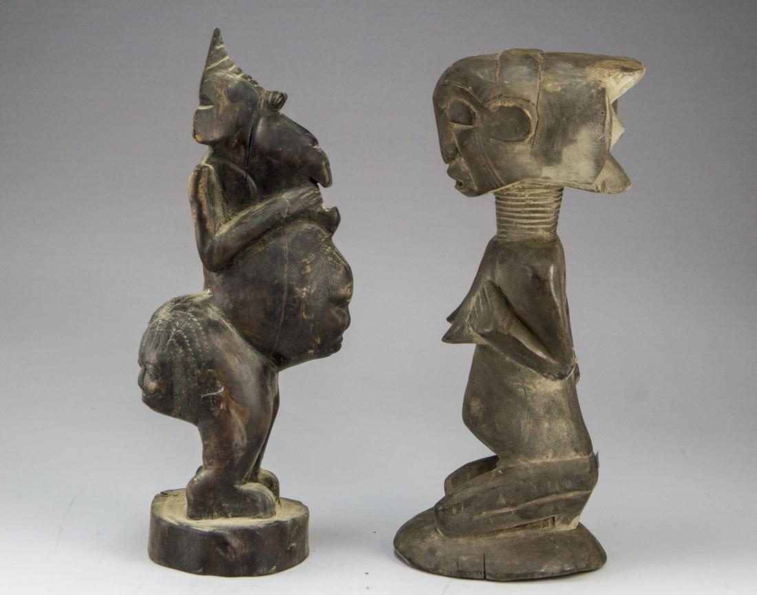 Lot of African Sculptures - 2