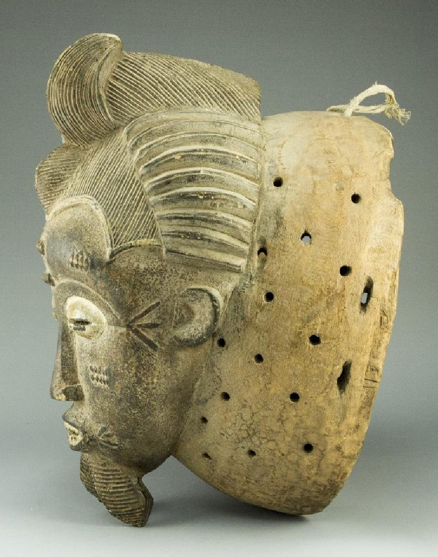 Wooden African Mask - 2