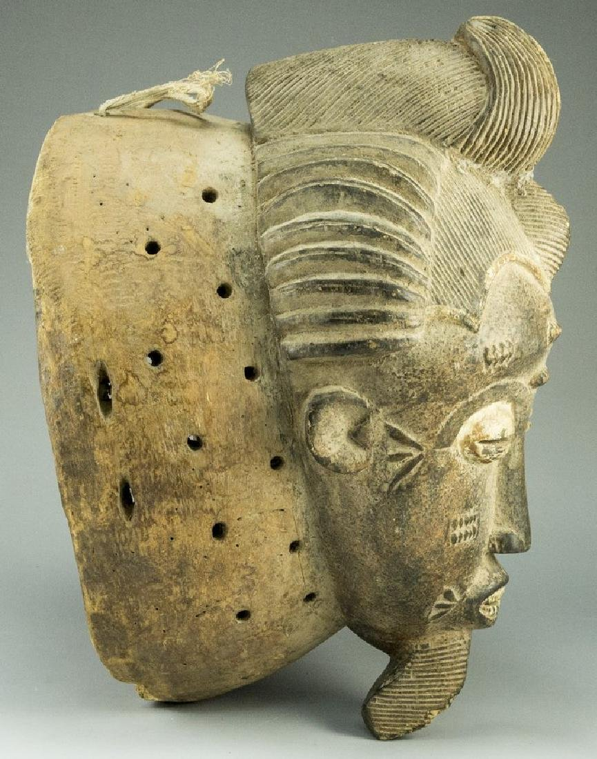 Wooden African Mask - 3