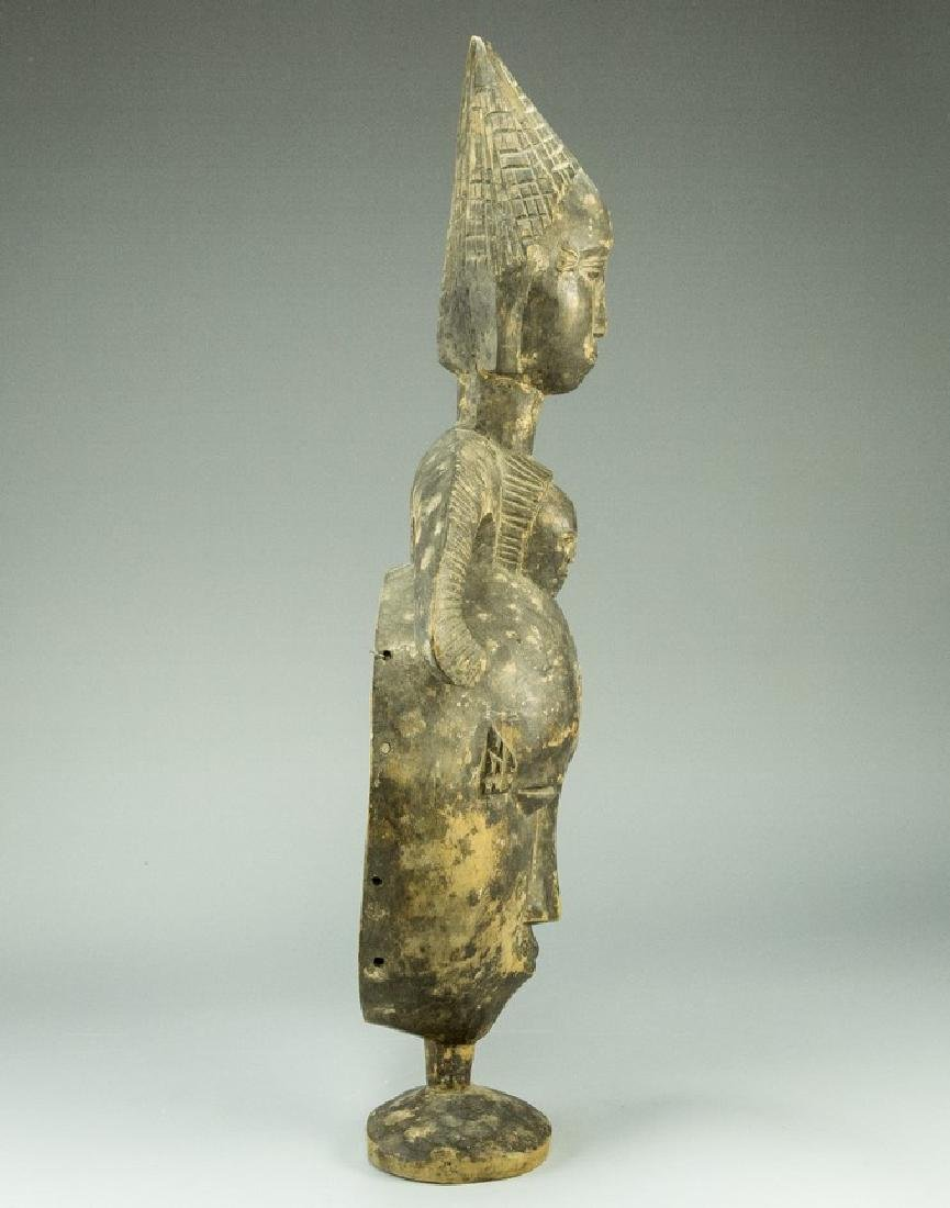 Wooden African Mask - 5