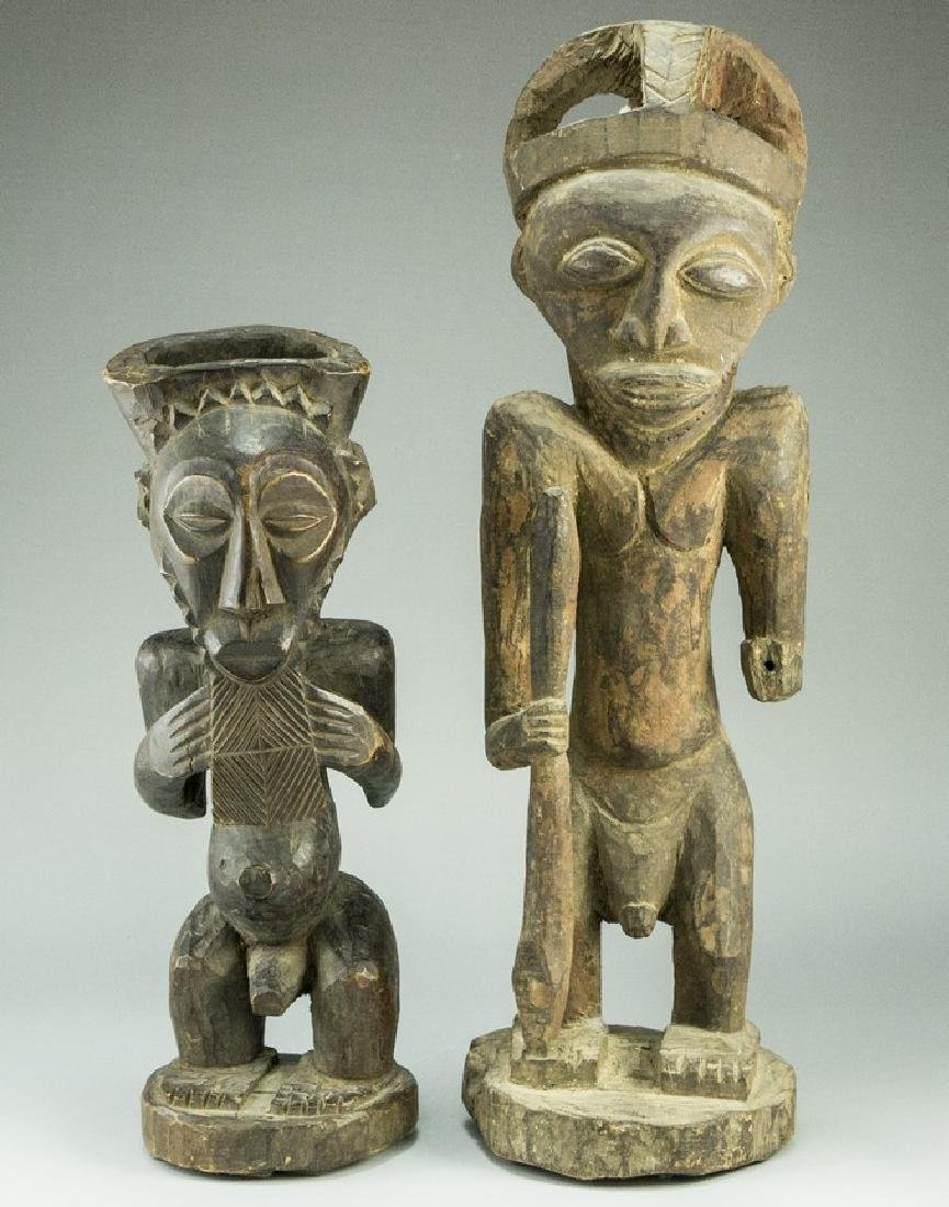 Lot of African Sculptures