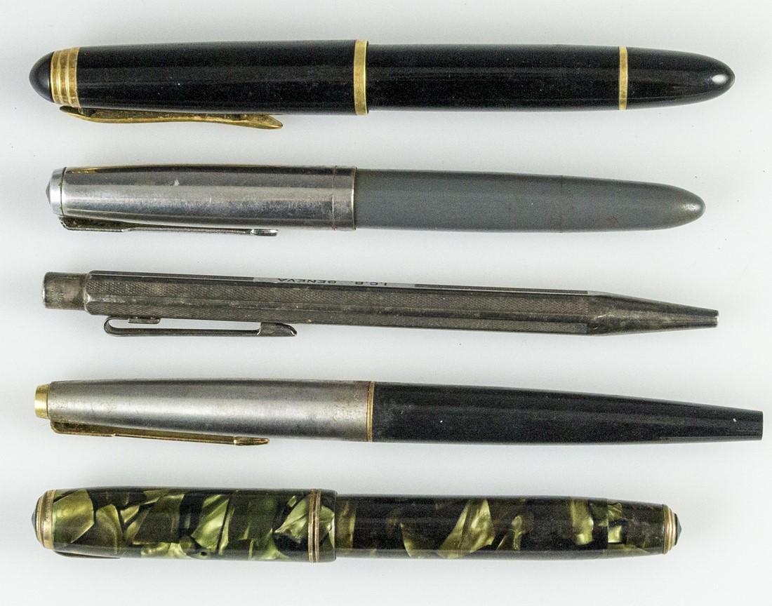 Fountain Pens, Parker, Geha