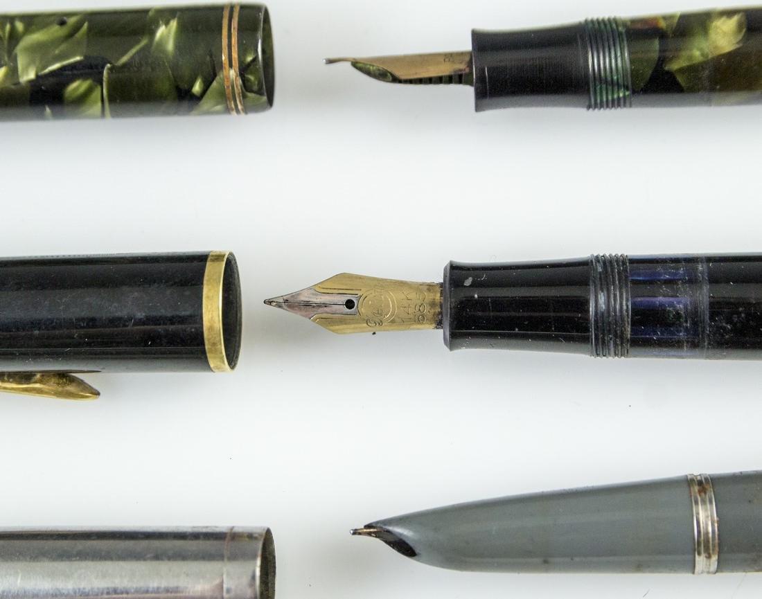 Fountain Pens, Parker, Geha - 3