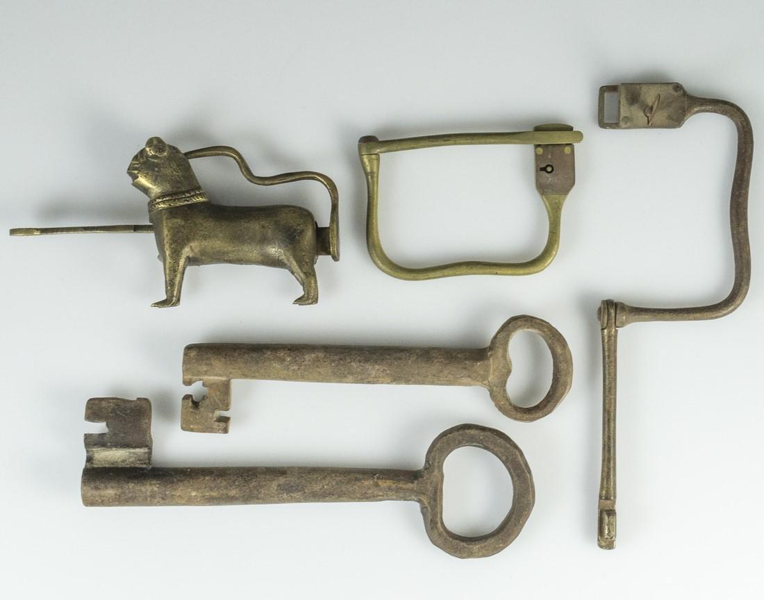 Antique & Vintage Keys & Locks