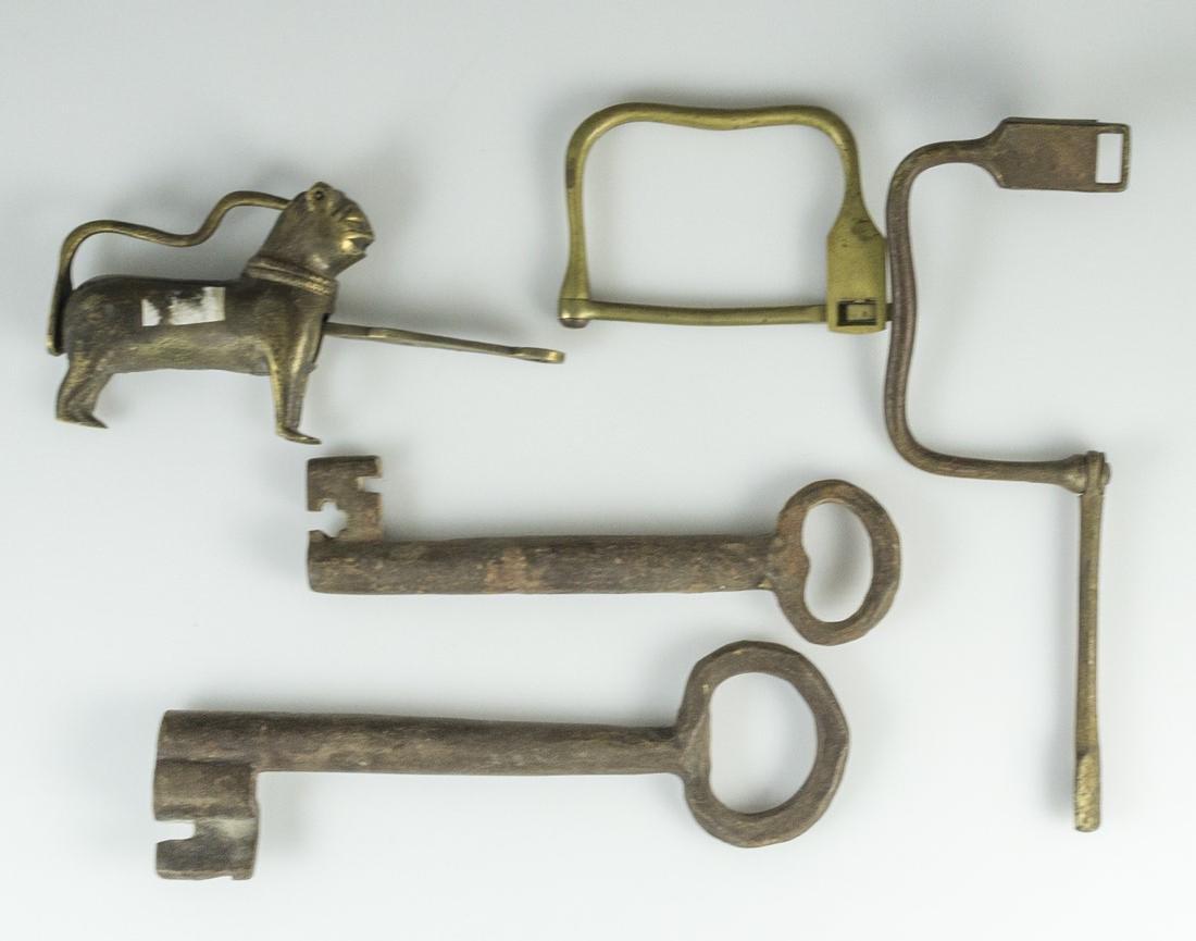 Antique & Vintage Keys & Locks - 2
