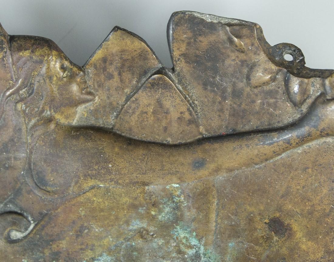 Art Nouveau Brass Items - 3