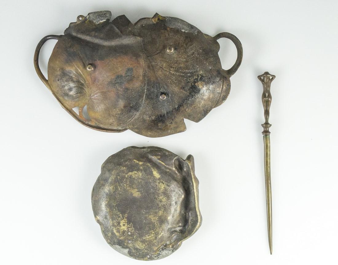 Art Nouveau Brass Items - 4