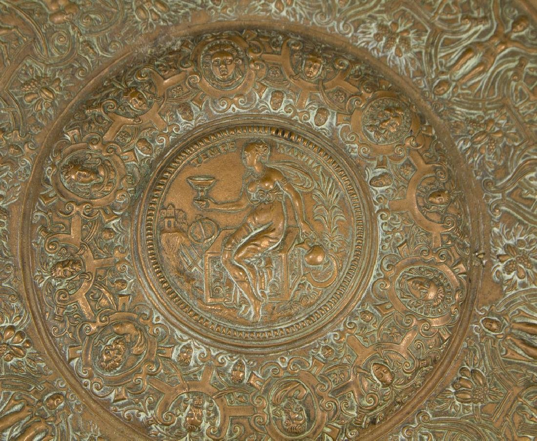 French Copper Tray - 2