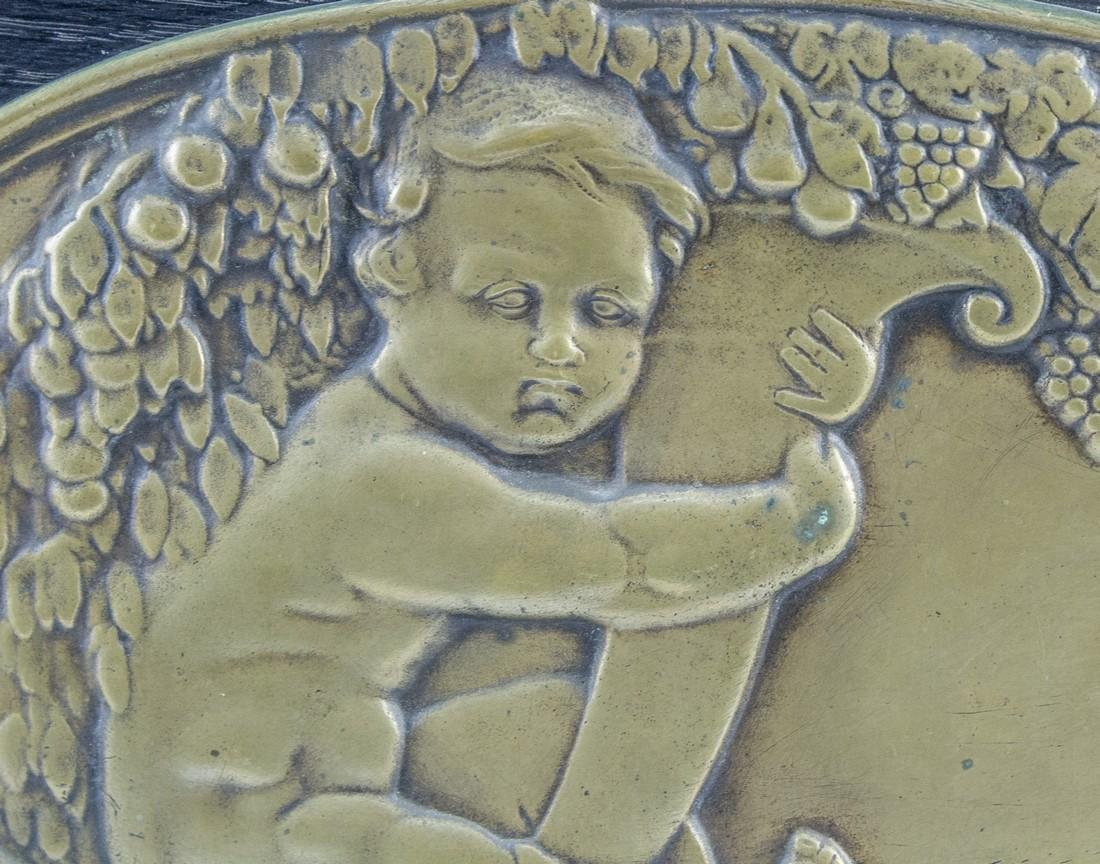 French Bronze Relief - 2