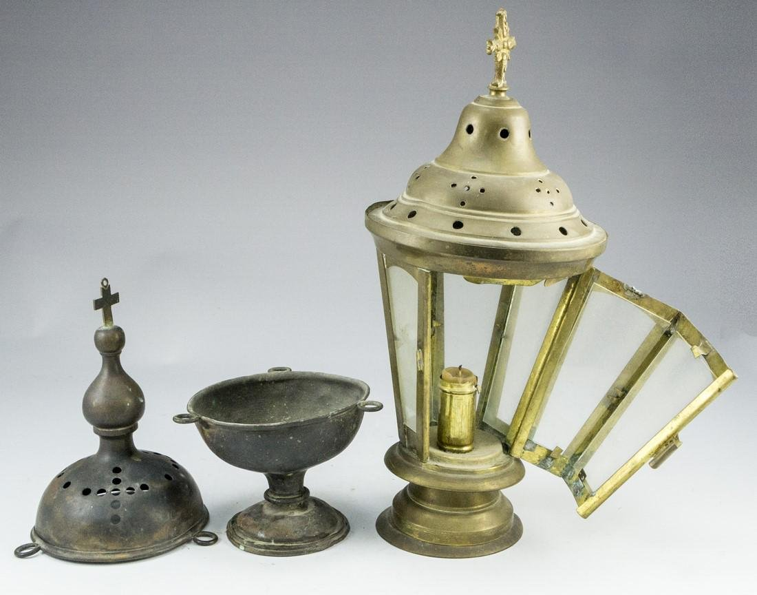 Lot of Antique Church items - 4